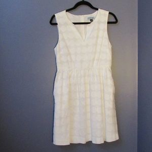 Cynthia Rowley White Polka Dot Dress 10   A31